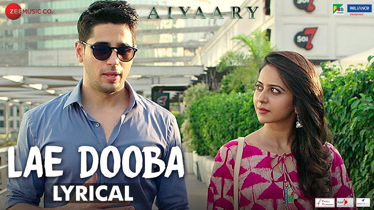 Lae Dooba (Aiyaary)-Song Lyrics